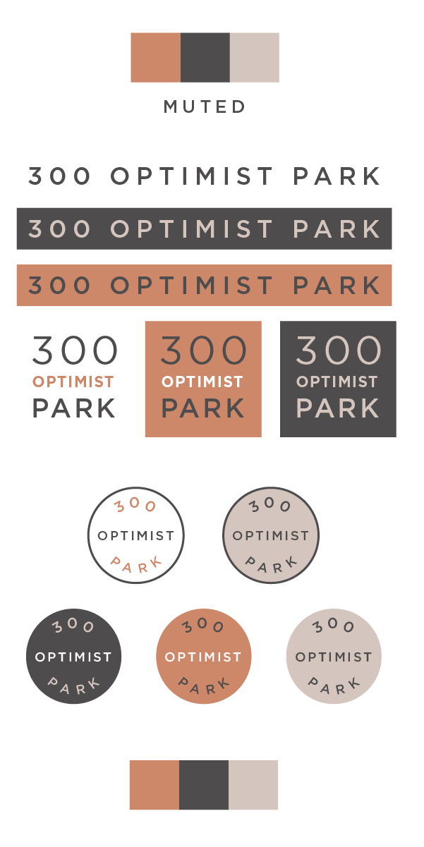 300 Optimist Park logo colors