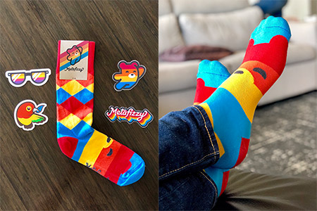 Metafizzy socks